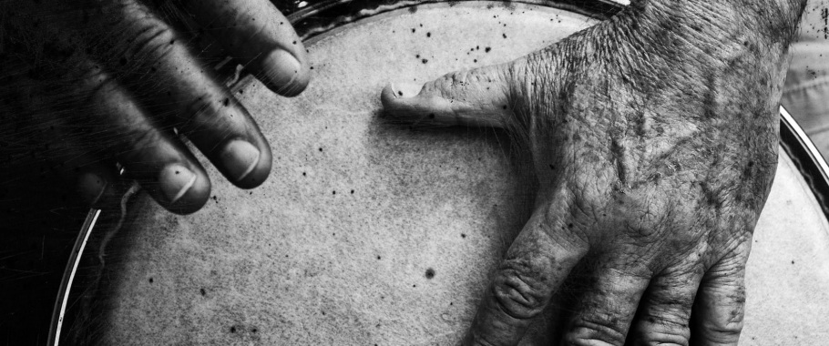 drumming hands