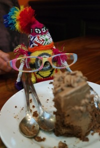 Shaman Quichi eaten a cake!