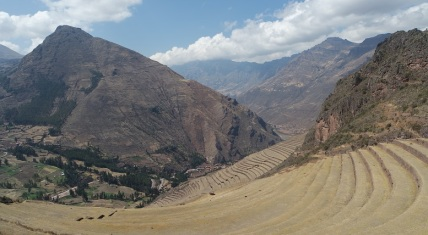 Pisac Ruins at the Sacred Valley