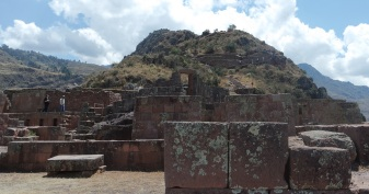 The trials at the Pisac Ruins