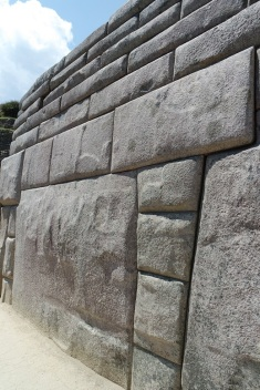The stone wall without any gaps at all. Everything was made with precision. Machu Picchu