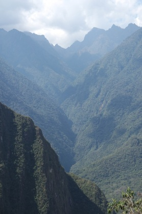 Mountains around Machu Picchu