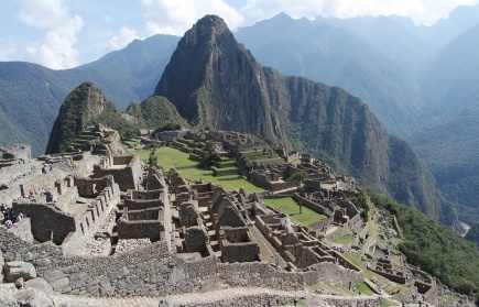 The overview of Machu Picchu (The City in the Sky). A magnificent architecture that was built without written language.