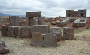 "Pumapunku or Puma Punku (in Aymara and in Quechua). Pumapunku was purposely integrated with Illimani mountain, a sacred peak that the Tiwanaku possibly believed to be home to the spirits of their dead. This area was believed to have existed between heaven and Earth. The spiritual significance and the sense of wonder would have been amplified into a ""mind-altering and life-changing experience"" through the use of hallucinogenic plants. Examinations of hair samples exhibit remnants of psychoactive substances in many mummies found in Tiwanaku culture mummies from Northern Chile, even those of babies as young as one year of age, demonstrating the importance of these substances to the Tiwanaku."
