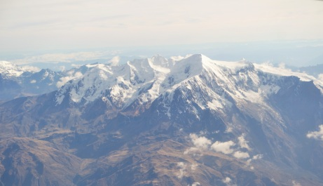 Andes Snow Mountains
